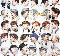 "Gossip can be like a virus. It reveals poor character, causes pain and leads to damaged and destroyed relationships.  - - - - - - - - - - Pictured here is one of my favorite works by Norman Rockwell. Rockwell's iconic paintings were featured on the covers of the Saturday Evening Post; a staggering 322 covers over a period of 47 years.  - - - - - - - - - -  ""How would your life be different if… you walked away from gossip and verbal defamation? Let today be the day… you speak only the good you know of other people and encourage others to do the same."" ― Steve Maraboli, Life, the Truth, and Being Free"