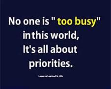 Priorities Quote